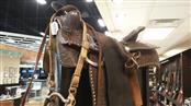 Western Red Ranger Saddle w/ Bridle